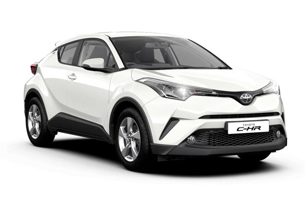 Toyot CH R front ch-r