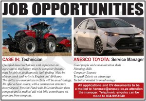 ANESCO VACANCIES & JOBS